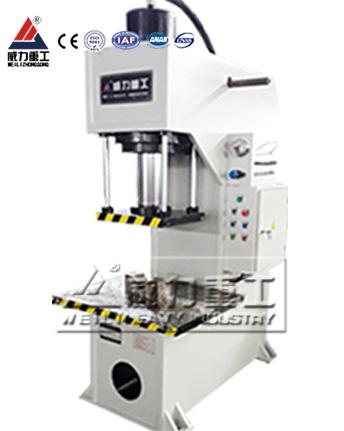 100吨胶合板单柱液压机YW41-100T单臂液压机