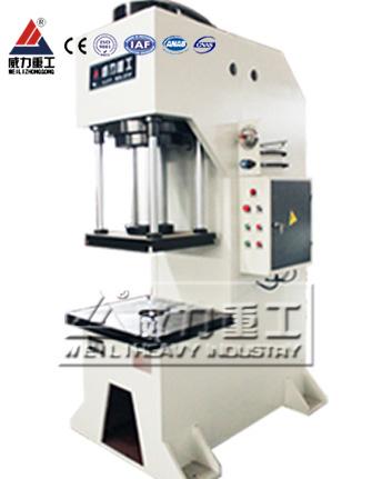 200吨蓄电池压装单柱液压机YW41-200T单臂液压机