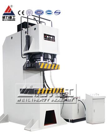 630吨汽车零部件单臂液压机,轴承定子单柱液压机