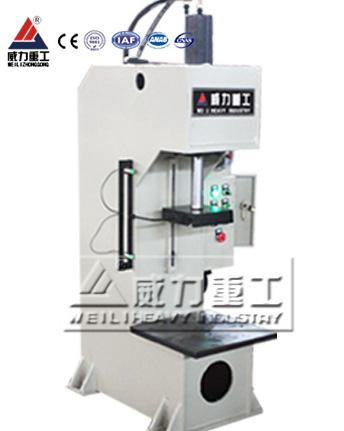 20吨精密伺服数字轴承压装单柱液压机